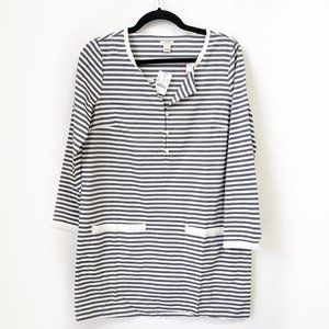 NWT J. Crew striped pocket tunic
